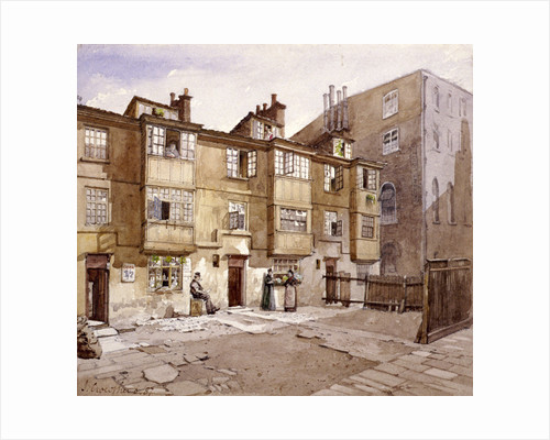 Paul's Alley, Australia Avenue, London by John Crowther