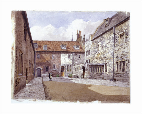 Wash house court, Charterhouse, London by Albertus Brondgeest