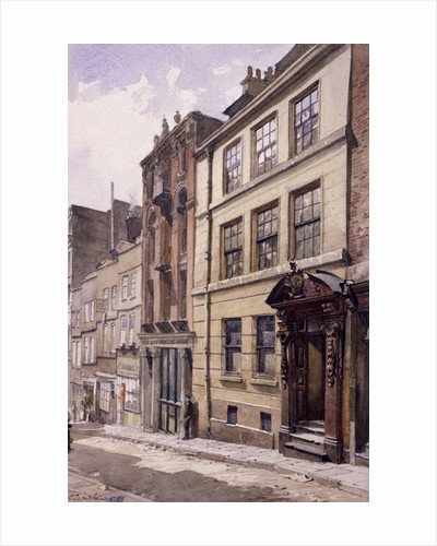 Painter-Stainers' Hall, Little Trinity Lane, London by John Crowther