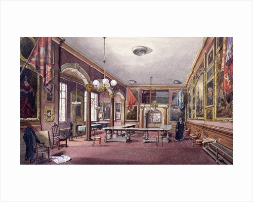 Interior of Painter-Stainers' Hall, London by Ludolph Smids