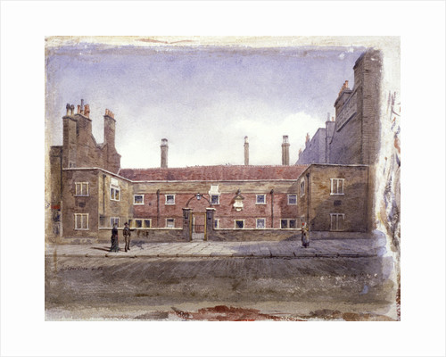 Stafford Alms Houses, Gray's Inn Road, London, 1882 by John Crowther