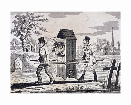 Satire on night watchmen, London by William Henry Toms
