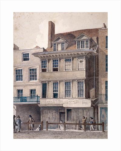 George Inn, West Smithfield, London by Charles James Richardson