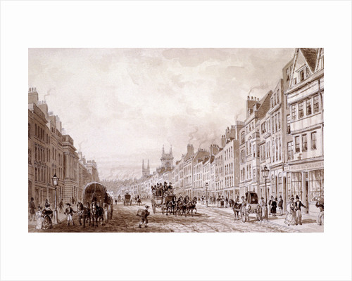 Holborn, London by Thomas Hosmer Shepherd