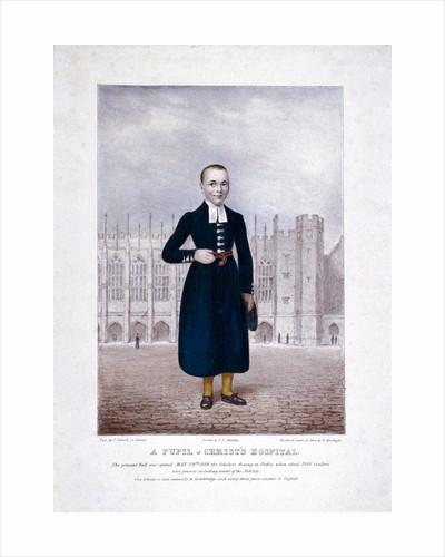 Christ's Hospital pupil, London by Henry Kirchhoffer