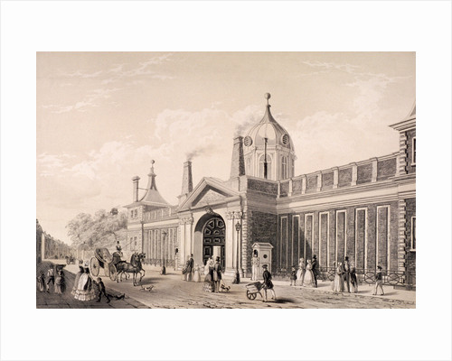 British Museum, London by Augustus Charles Pugin