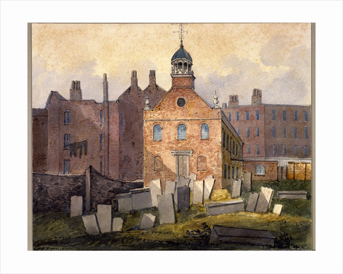 St Marylebone Old Church, London by William Pearson