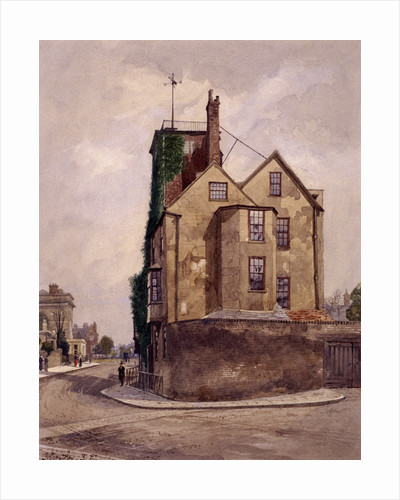 Canonbury Tower, Islington, London, 1887 by John Crowther