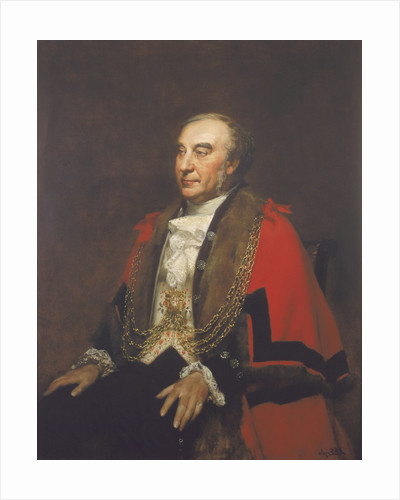Alderman William Lawrence, Sherif by Alfred Edward Emslie