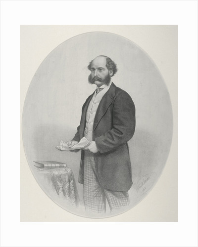 Sir Joseph W Bazalgette by Anonymous