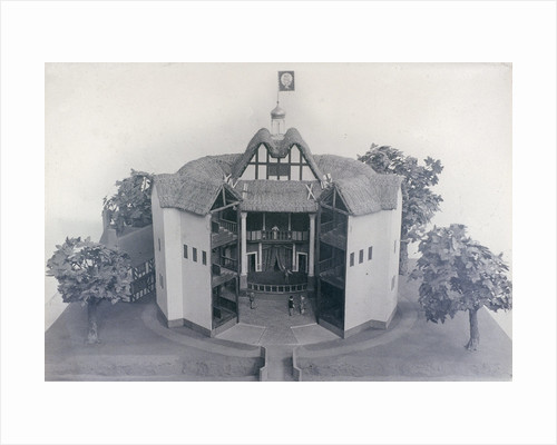 Model of the Globe Theatre by Currier and Ives