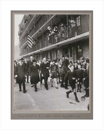 Visit of the Prince of Wales to Shoreditch, London, 18th October 1927 by Anonymous