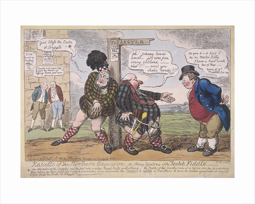 Bonnie Willie by George Cruikshank