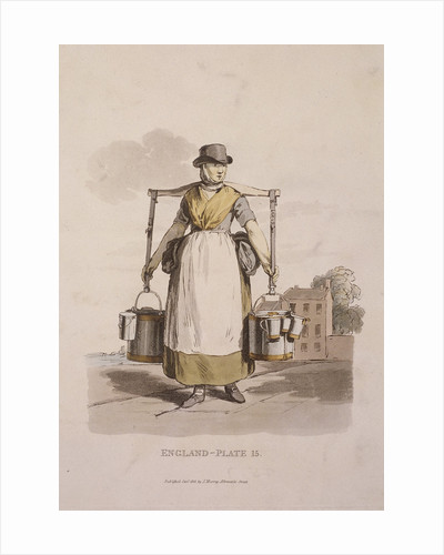 A milkmaid, Provincial Characters by Anonymous