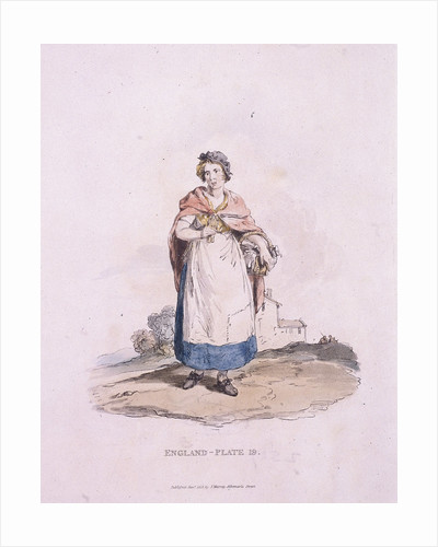 A match girl, Provincial Characters by Anonymous