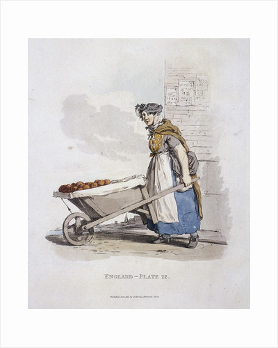 A barrow woman, Provincial Characters by Anonymous