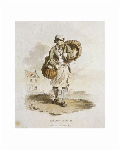 A baker, Provincial Characters by Anonymous