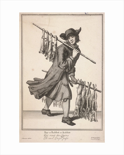 Buy a Rabbet a Rabbet, Cries of London, (c1688?) by Anonymous