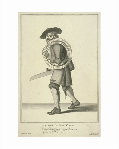 Any work for John Cooper, Cries of London, (c1688?) by Pierce Tempest