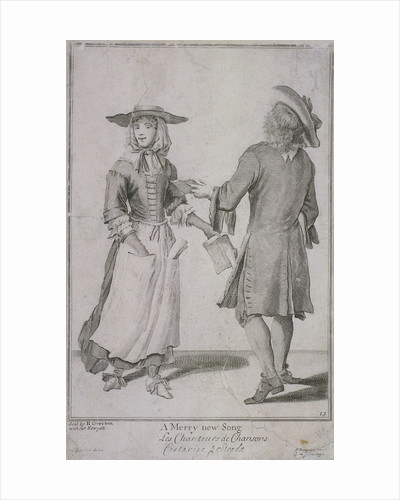 A Merry new Song, Cries of London, (c1688?) by Anonymous