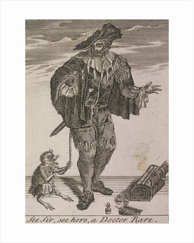See Sir, see here, a Doctor Rare, Cries of London, (c1688?) by Anonymous