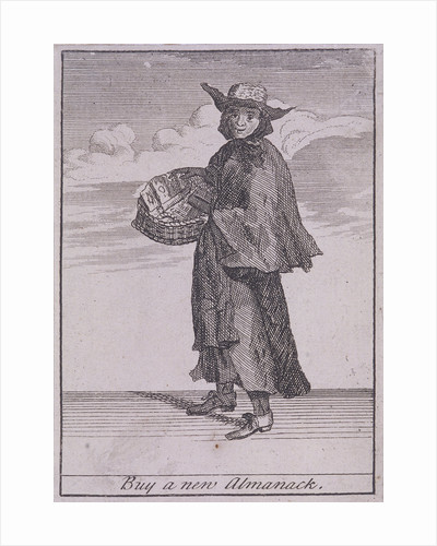 Buy a new Almanack, Cries of London, (c1688?) by Anonymous