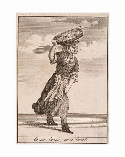 Crab, Crab, any Crab, Cries of London, (c1688?) by Anonymous