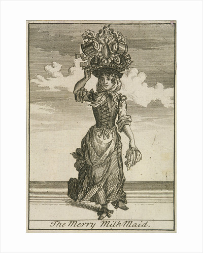 The Merry MilkMaid, Cries of London, (c1688?) by Anonymous