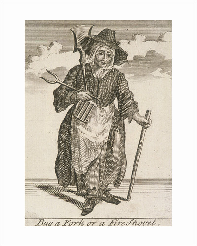 Buy a Fork or a Fire Shovel, Cries of London, (c1688?) by Anonymous
