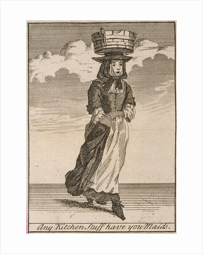 Any Kitchen Stuff have you Maids, Cries of London, (c1688?) by Anonymous