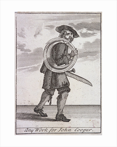 Any Work for John Cooper, Cries of London, (c1688?) by Anonymous