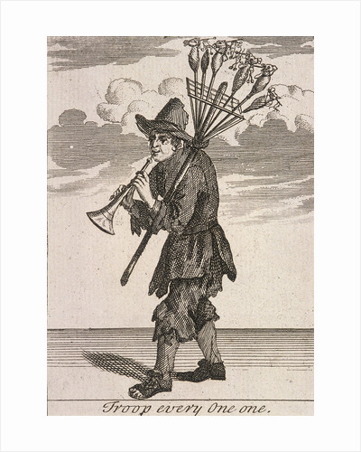Troop every One One, Cries of London, (c1688?) by Anonymous