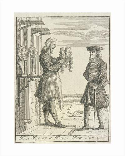 Fine Tye, or a Fine Bob Sir, Cries of London, (c1688?) by Anonymous