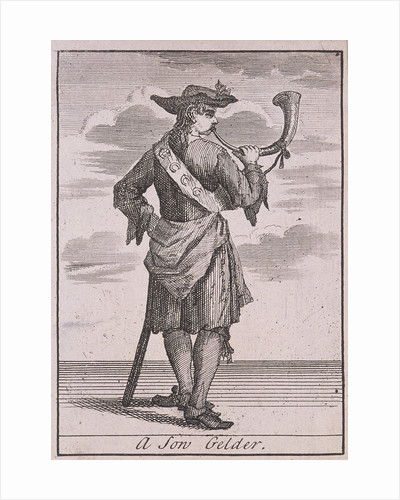 A Son Gelder, Cries of London, (c1688?) by Anonymous