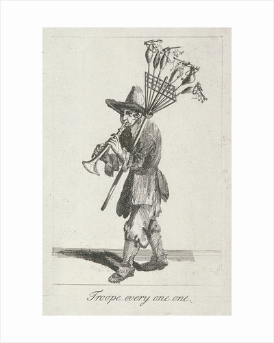 Troope every one one, Cries of London, (c1688?) by Anonymous