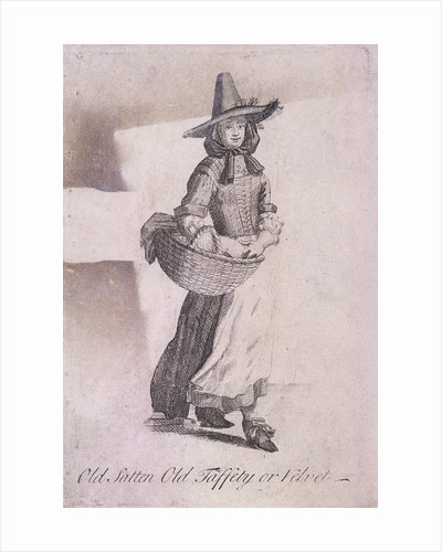 Old Satten Old Taffety or Velvet, Cries of London, (c1688?) by Anonymous