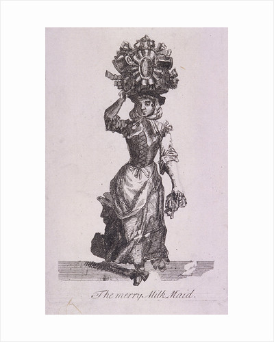 The Merry Milk Maid, Cries of London, (c1688?) by Anonymous
