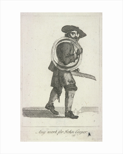 Any work for John Cooper, Cries of London by Anonymous