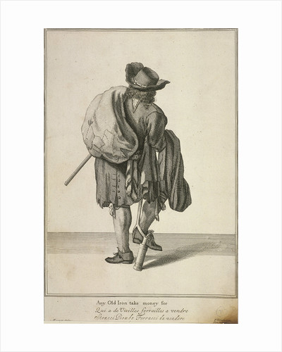 Any Old Iron take money for, Cries of London, (c1688?) by Anonymous