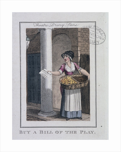 A Bill of the Play, Cries of London by Anonymous