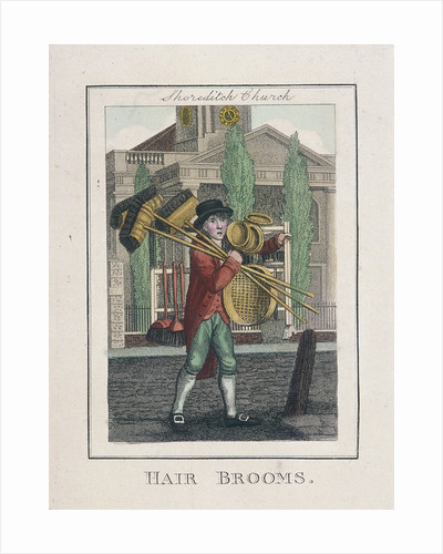 Hair Brooms, Cries of London by Anonymous