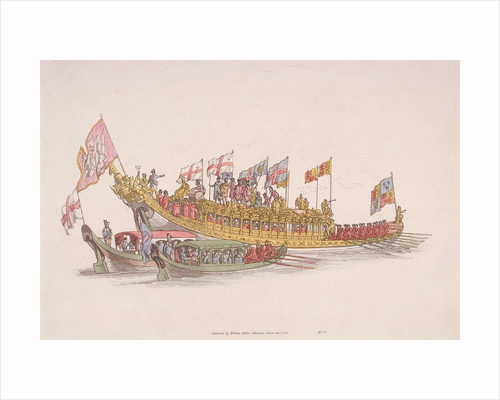 City of London State Barge by Anonymous