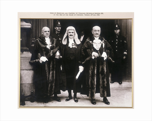 Sheriffs of the City of London presenting a petition at the House of Commons, London by Anonymous