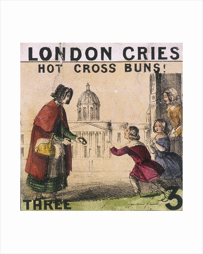 Hot Cross Buns!, Cries of London by Hugh Carter