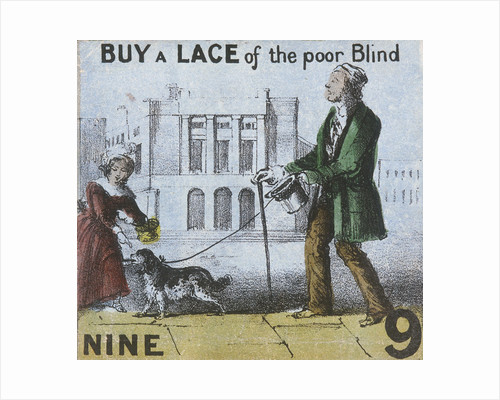 Buy a Lace of the poor Blind, Cries of London by Unknown