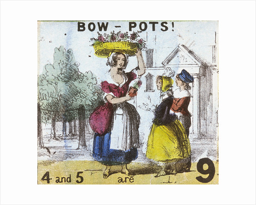 Bow-pots!, Cries of London by TH Jones