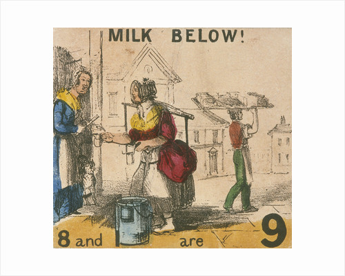 Milk Below!, Cries of London by Anonymous