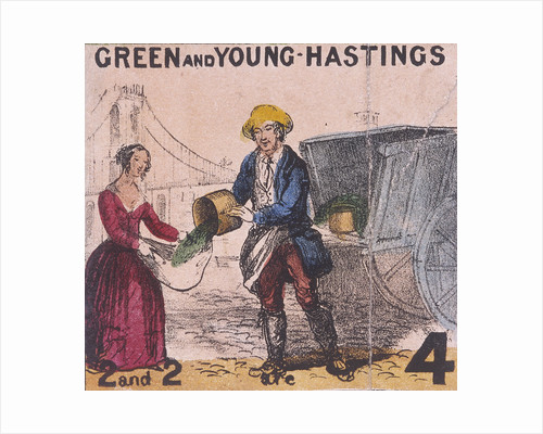 Green and Young Hastings, Cries of London by Pierce Tempest