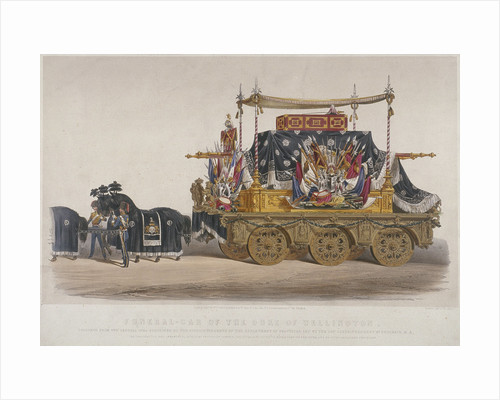 View of the funeral car of the Duke of Wellington by Richard Redgrave