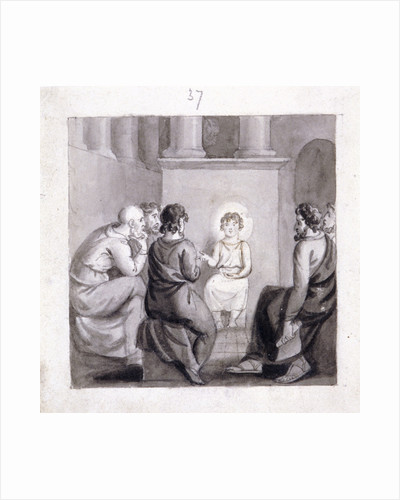 The Child Jesus in the Temple by Corbould Family